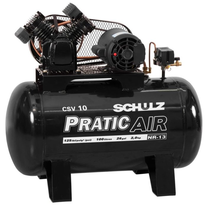 Compressor Pratic Air CSV 10/100L Schulz - Air Press
